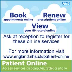 NHS ENgland Patient Online Information
